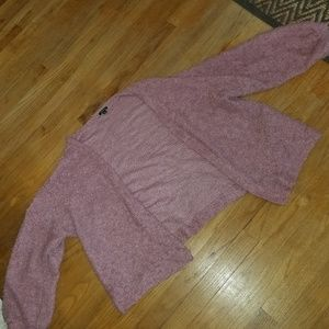Wild Fable Pink Boucle cardigan PLUS xl xxl